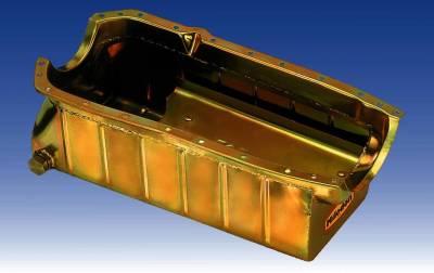 Cylinder Block Components - Engine Oil Pan - Milodon Inc. - Milodon Marine Oil Pans - MIL-31275