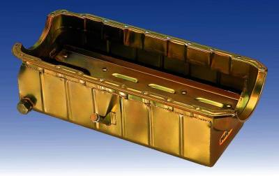 Cylinder Block Components - Engine Oil Pan - Milodon Inc. - Milodon Marine Oil Pans - MIL-31557