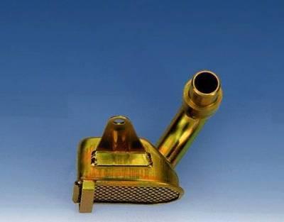 Cylinder Block Components - Engine Oil Pump Pickup Tube - Milodon Inc. - Milodon Small Block & Big Block Chevy Drag Race Oil Pump Pickup - MIL-18302