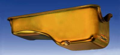 Cylinder Block Components - Engine Oil Pan - Milodon Inc. - Milodon Stock Replacement Oil Pans - MIL-30720