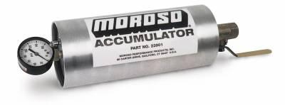 A/C Accumulator / Receiver Drier - Universal Tank Accumulator - Moroso - Moroso Accumulator, 1.5 Quart - 23901