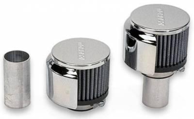 Crankcase Ventilation System - Engine Crankcase Breather Cap - Moroso - Moroso Breather Kit, Weld-In - 68800