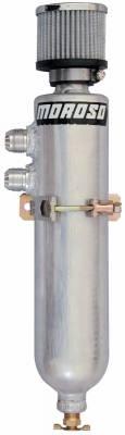 Crankcase Ventilation System - Crankcase Breather Bottle - Moroso - Moroso Breather Tank, Vac Pump - 85466