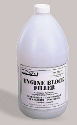 Functional Fluid, Lubricant, Grease (including Additives) - Starting Fluid - Moroso - Moroso Eng. Block Filler, 1 Gal - 35571