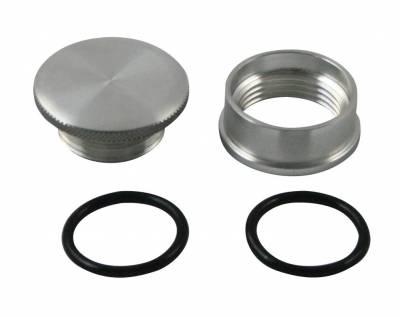 Cylinder Block Components - Engine Oil Filler Cap - Moroso - Moroso Filler Cap Kit, Alum - 85282