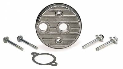 Gaskets and Sealing Systems - Engine Oil Filter Bypass Adapter - Moroso - Moroso Filter Bypass, Small Block Chevy/Big Block Chevy - 23770