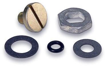 Service Kits - Carburetor Needle and Seat Hardware Kit - Moroso - Moroso Holley Needle & Seat Hardware - 65413