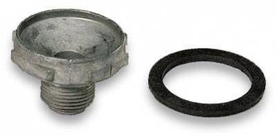 Gaskets and Sealing Systems - Carburetor Power Valve Block-Off Plug - Moroso - Moroso Holley Power Valve Plug - 65408