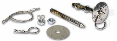 Appearance Products - Hood Pin - Moroso - Moroso Hood Pins, Steel, 1/2 in. - 39020