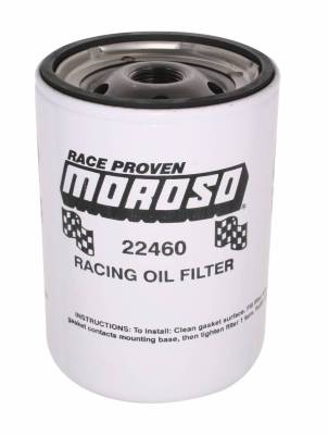 Moroso Oil Filter, Chevy, Racing - 22460