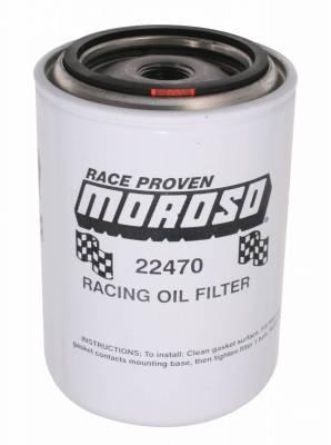 Filters - Engine Oil Filter - Moroso - Moroso Oil Filter, Ford/Mopar, Racing - 22470