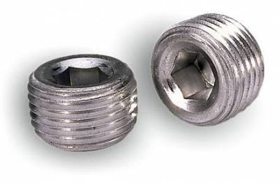 Hardware - Pipe Plug - Moroso - Moroso Pipe Plugs, 1/2 in. Npt - 37810