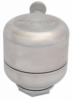 Crankcase Ventilation System - Engine Crankcase Breather Cap - Moroso - Moroso Positive Locking Breather - 68788