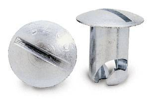 Assortments - Fastener Assortment - Moroso - Moroso Quick Fastener Oval, 3/8 X .500, STL - 71350