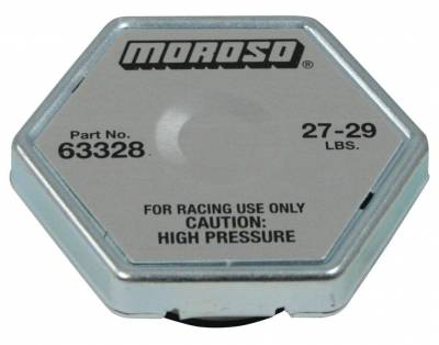 Radiators, Coolers and Related Components - Radiator Cap - Moroso - Moroso Radiator Cap, 28 Lb. - 63328