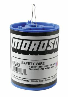 Safety Products - Safety Wire - Moroso - Moroso Safety Wire, Stainless - 62280