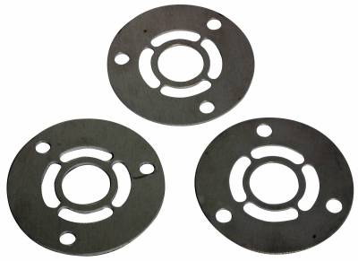 Cylinder Block Components - Engine Crankshaft Main Bearing Shim - Moroso - Moroso Shim Kit, Crank Pulley - 64031