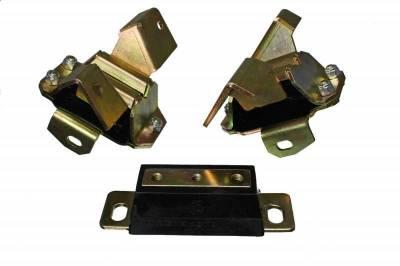 Cylinder Block Components - Engine Mount Kit - Energy Suspension - MOTOR/TRANSMISSION MOUNT SET - 4.1137G