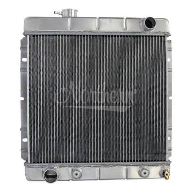 Radiators, Coolers and Related Components - Radiator - Northern Radiator - Muscle Car Radiator - 20 1/4 X 18 1/2 X 3 1/8 - 205064