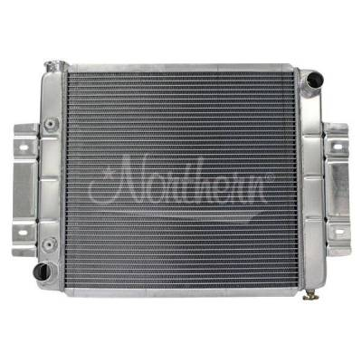 Radiators, Coolers and Related Components - Radiator - Northern Radiator - Muscle Car Radiator - 23 3/4 X 19 5/8 X 3 1/8 - 205053