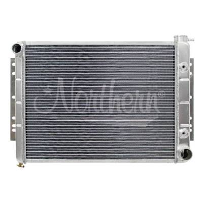 Radiators, Coolers and Related Components - Radiator - Northern Radiator - Muscle Car Radiator - 26 1/4 X 18 1/2 X 3 1/8 - 205070