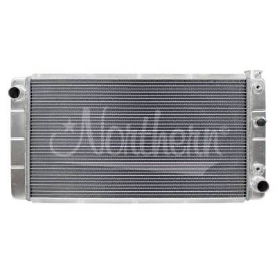 Radiators, Coolers and Related Components - Radiator - Northern Radiator - Muscle Car Radiator - 30 3/4 X 15 7/8 X 3 1/8 - 205067