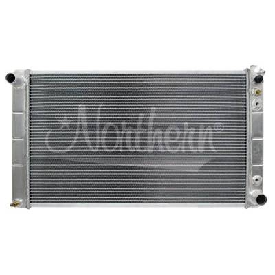 Radiators, Coolers and Related Components - Radiator - Northern Radiator - Muscle Car Radiator - 33 X 18 3/8 X 3 1/8 - 205026