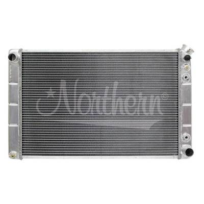 Northern Radiator - Muscle Car Radiator - Ls Engine Conversion - 30 3/4 X18 3/8 X 3 1/8 - 205216