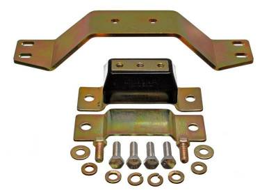 Frame - Transmission Mount - Energy Suspension - MUSTANG 4.6L TRANS MOUNT CROSSMEMBER - 4.1128G