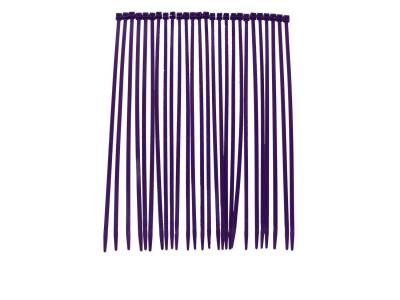 Wire, Cable and Related Components - Cable Tie - Taylor Cable - Nylon Tie Strap 8in purple - 43012