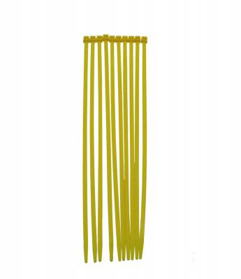 Wire, Cable and Related Components - Cable Tie - Taylor Cable - Nylon Tie Strap 8in yellow - 43042