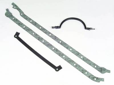 Gaskets and Sealing Systems - Engine Oil Pan Gasket Set - Mr Gasket - OIL PAN GSKT,BB CHEV - 197