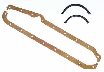 Gaskets and Sealing Systems - Engine Oil Pan Gasket Set - Mr Gasket - OIL PAN GSKT,SB CHEV - 190