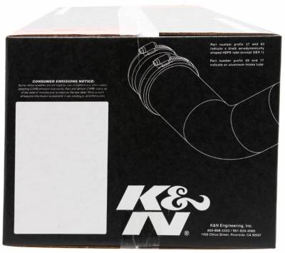 K&N - Performance Air Intake System - 57-3026 - Image 4