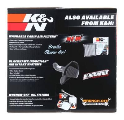 K&N - Performance Air Intake System - 57-3070 - Image 4
