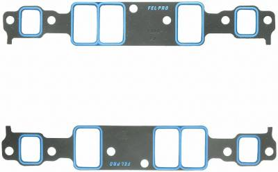 Gaskets and Sealing Systems - Engine Intake Manifold Gasket Set - FEL-PRO - PERFORMANCE INTAKE MANIFOLD GASKET SET - 1202