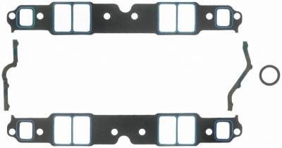 Gaskets and Sealing Systems - Engine Intake Manifold Gasket Set - FEL-PRO - PERFORMANCE INTAKE MANIFOLD GASKET SET - 1207