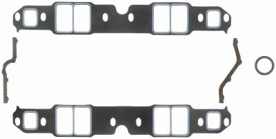 Gaskets and Sealing Systems - Engine Intake Manifold Gasket Set - FEL-PRO - PERFORMANCE INTAKE MANIFOLD GASKET SET - 1209