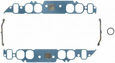 Gaskets and Sealing Systems - Engine Intake Manifold Gasket Set - FEL-PRO - PERFORMANCE INTAKE MANIFOLD GASKET SET - 1210