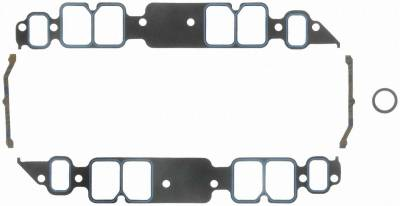 Gaskets and Sealing Systems - Engine Intake Manifold Gasket Set - FEL-PRO - PERFORMANCE INTAKE MANIFOLD GASKET SET - 1211