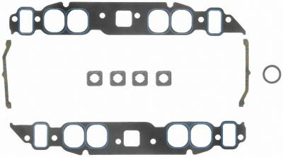 Gaskets and Sealing Systems - Engine Intake Manifold Gasket Set - FEL-PRO - PERFORMANCE INTAKE MANIFOLD GASKET SET - 1212