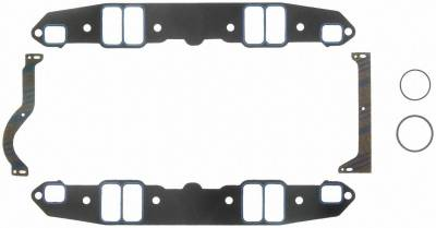 Gaskets and Sealing Systems - Engine Intake Manifold Gasket Set - FEL-PRO - PERFORMANCE INTAKE MANIFOLD GASKET SET - 1213