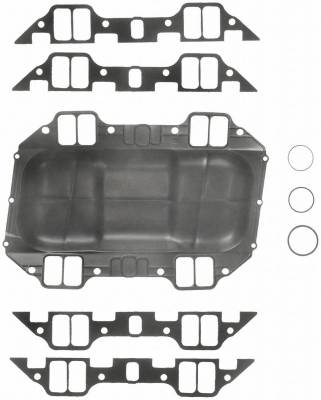 Gaskets and Sealing Systems - Engine Intake Manifold Gasket Set - FEL-PRO - PERFORMANCE INTAKE MANIFOLD GASKET SET - 1214