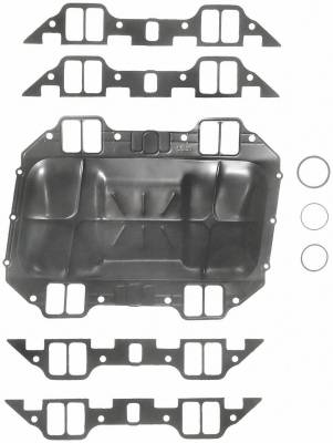 Gaskets and Sealing Systems - Engine Intake Manifold Gasket Set - FEL-PRO - PERFORMANCE INTAKE MANIFOLD GASKET SET - 1215