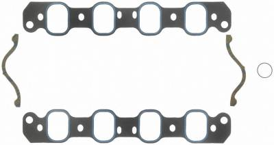 Gaskets and Sealing Systems - Engine Intake Manifold Gasket Set - FEL-PRO - PERFORMANCE INTAKE MANIFOLD GASKET SET - 1228