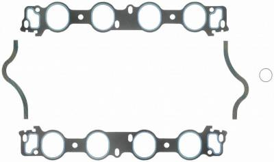 Gaskets and Sealing Systems - Engine Intake Manifold Gasket Set - FEL-PRO - PERFORMANCE INTAKE MANIFOLD GASKET SET - 1231