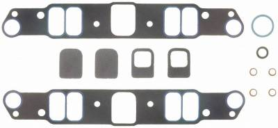 Gaskets and Sealing Systems - Engine Intake Manifold Gasket Set - FEL-PRO - PERFORMANCE INTAKE MANIFOLD GASKET SET - 1233