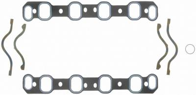 Gaskets and Sealing Systems - Engine Intake Manifold Gasket Set - FEL-PRO - PERFORMANCE INTAKE MANIFOLD GASKET SET - 1240