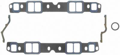 Gaskets and Sealing Systems - Engine Intake Manifold Gasket Set - FEL-PRO - PERFORMANCE INTAKE MANIFOLD GASKET SET - 1244