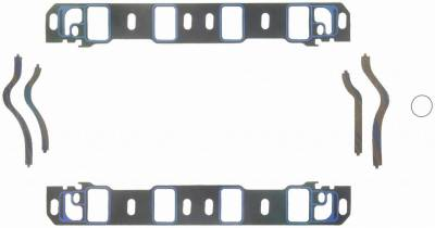 Gaskets and Sealing Systems - Engine Intake Manifold Gasket Set - FEL-PRO - PERFORMANCE INTAKE MANIFOLD GASKET SET - 1262